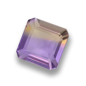 2.70 ct  Octagon Step Cut Bi-color Ametrine 8.1 x 8 mm
