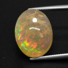 17.26 ct  Oval Cabochon Multicolor Opal 19.3 x 14.8 mm
