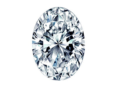 0.86ct Oval Cut Diamond Carat - 0.86ct Color - G Clarity - SI1 Cut - Ideal