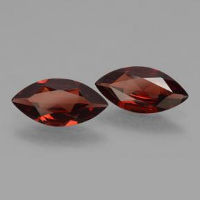 3.28 ct (total) Marquise Facet Red Pyrope Garnet 11.9 x 6 mm
