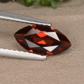 1.23 ct  Marquise Facet Red Pyrope Garnet 9.9 x 5.1 mm
