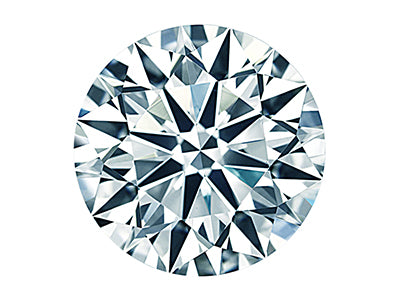 0.34ct Round Cut Diamond Carat - 0.34ct Color - G Clarity - SI2 Cut - Ideal