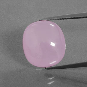 16.90 ct  Cushion Cabochon Pink Smithsonite 14.5 x 13.2 mm
