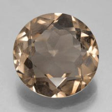 5.67 ct  Round Facet Brown Smoky Quartz 12.5 mm