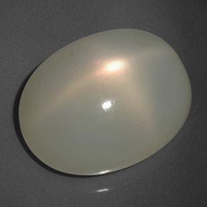 17.25 ct  Oval Cabochon Cream Star Moonstone 17.9 x 14 mm