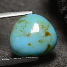 1.91 ct  Fancy Cabochon Blue Turquoise 10 x 9.8 mm