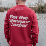SHARPER CARPER JUMPER RED