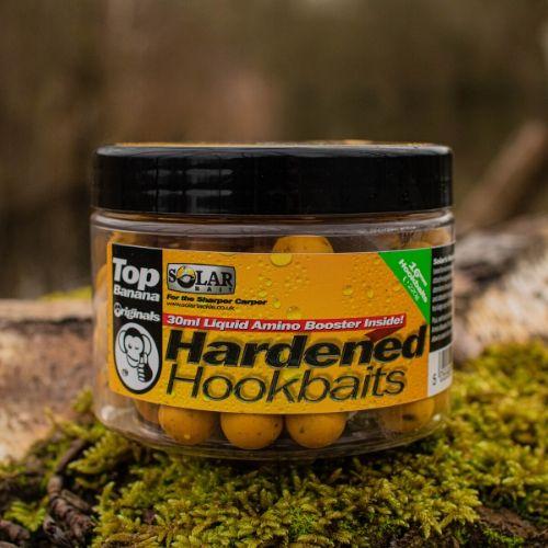 NEW TOP BANANA HARDENED HOOKBAITS + AMINO LIQUID