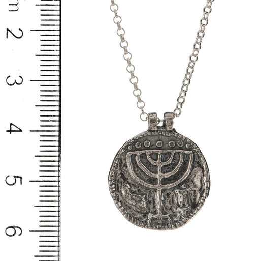 Medallion Necklace, 925 Sterling Silver