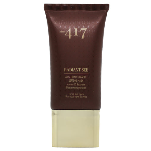 Minus 417 Radiant See 60 Second Miracle Lifting Mask