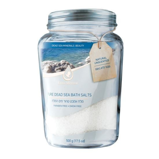 Extra Mineral Pure Mineral Bath Salts - Natural (Unscented) 17.5 oz