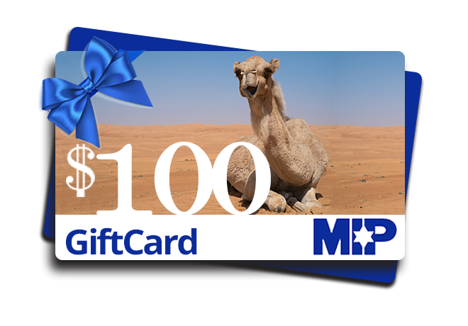 $100 Gift Card for MIP store