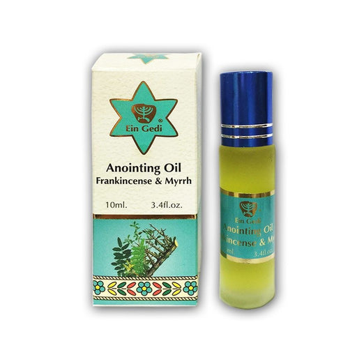 Ein Gedi Roll-on Anointing Oil - Frankincense & Myrrh Fragrances