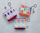 Sewing Themed Zipper Pouch