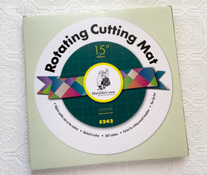 "15"" Rotating Cutting Mat"