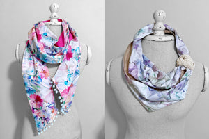 'Ladies Scarf Set' PDF Download