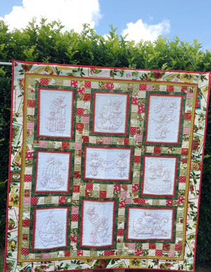 Christmas Mice QUILT