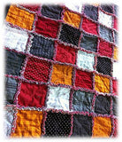 Raggy Flannel Quilt