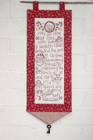 'Spirit of Christmas' Stitchery