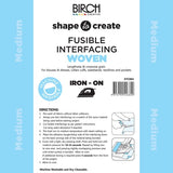 Shape to Create Fusible Interfacing