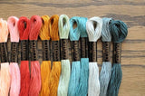 COSMO Embroidery Thread/Floss ( 300-399 )