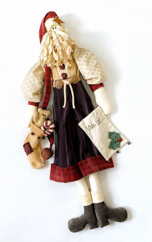 'Xmas Wishes' Doll