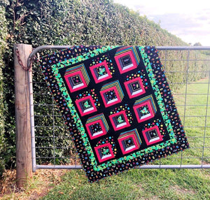 'Bugs in Boxes' Quilt Kit