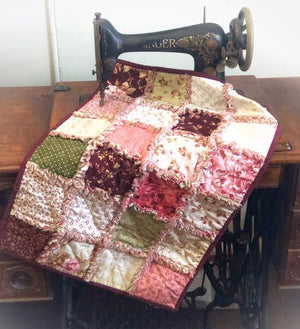 'Raggy Style' Quilt