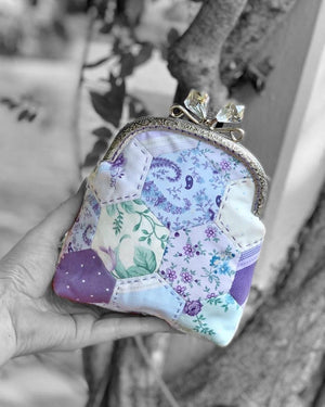 'Bauble Purse' Kit - Lilac Garden