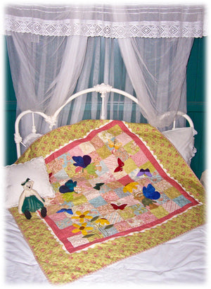 'Fairy Bears & Butterflies' Quilt