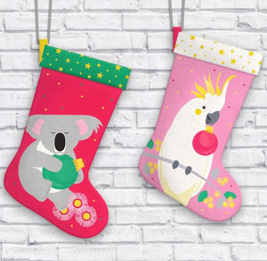 Festive Friends Stocking Panel