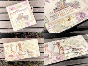'Vintage Market Embellishment Folder' Kit