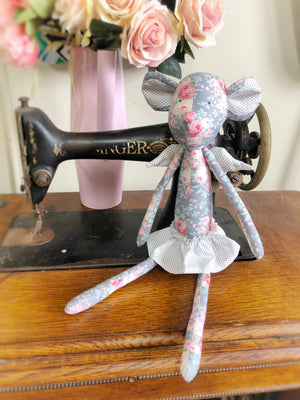 'Angel Mouse' Softie Kit