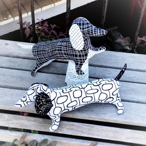 'Dapper Dachshund' Softie Kit