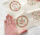 'Make Ready for Christmas' Stitchery Panel