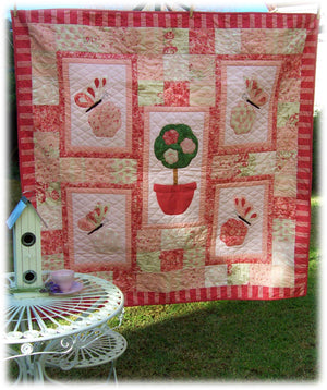 'Blissful Butterflies' Quilt
