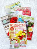 'Vignette' Magazine Bundle