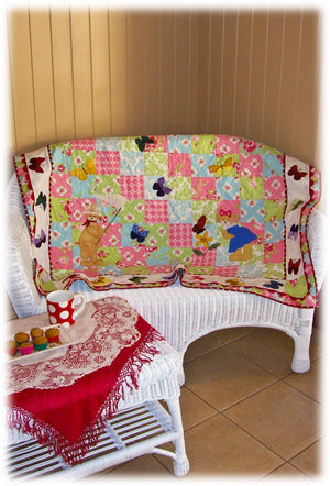 'Butterly Hunt' Quilt
