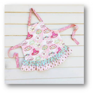 Girls Ruffled Apron Kit