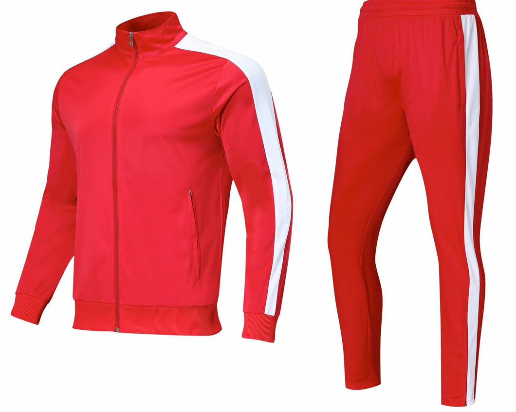 Full Tracksuit -  Complete Red.