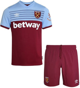 West Ham Home Kit- Top & Bottoms