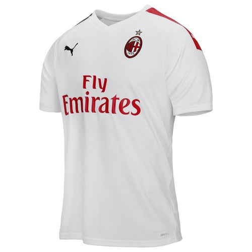 AC Milan White Bespoke Set - T-shirt & Shorts
