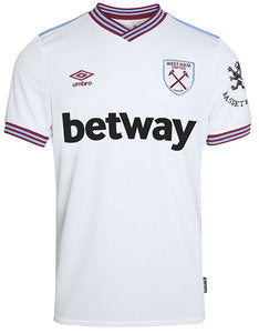 West Ham Away Kit- Top & Bottoms