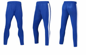Full Tracksuit -  All blue with white trim.