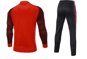 Full  Custom Tracksuit -  Red and Black