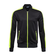 Load image into Gallery viewer, Full Tracksuit -  Lime Green trim and Black