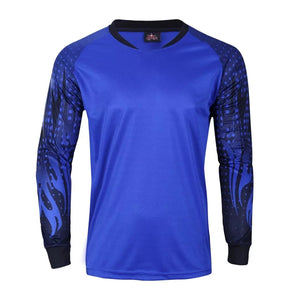 Goalkeeper Kit Blue and Purple blend