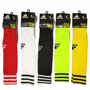 Socks Adult - Adidas Red with white trim
