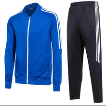 Load image into Gallery viewer, Full Tracksuit -  Blue top and Black bottoms