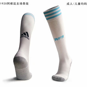 Socks Adult - Argentina Home White